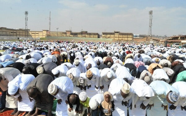 The Eid-ul-Fitr festivities is marked to end the Islam Holy Month of fasting; Ramadan