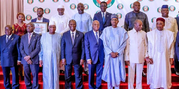 A group photograph of some ECOWAS leaders