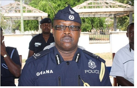 Nathan Kofi Boakye, Head of Research and Planning of the Ghana Police Service