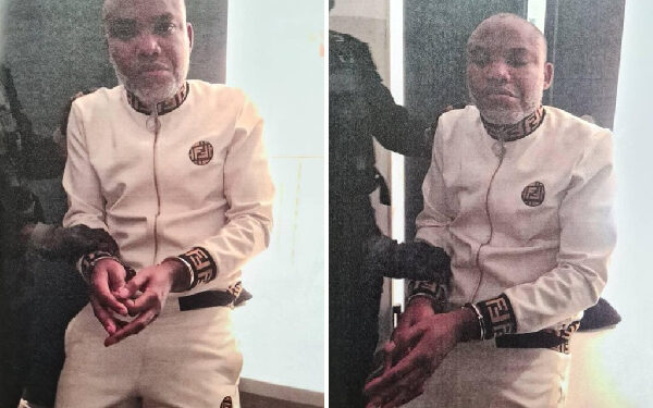 Nnamdi Kanu is leader of the pro-Biafra group IPOB