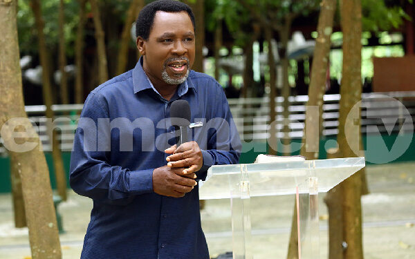 T.B. Joshua died on June 5 and will be buried on July 9, 2021