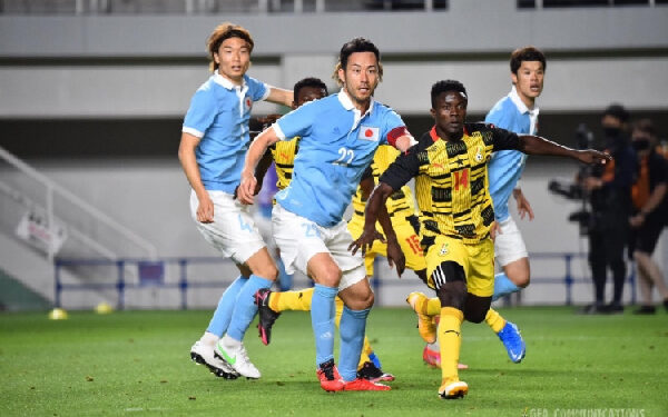 The Black Meteors suffered a 6-0 loss in their previous meeting with Japan