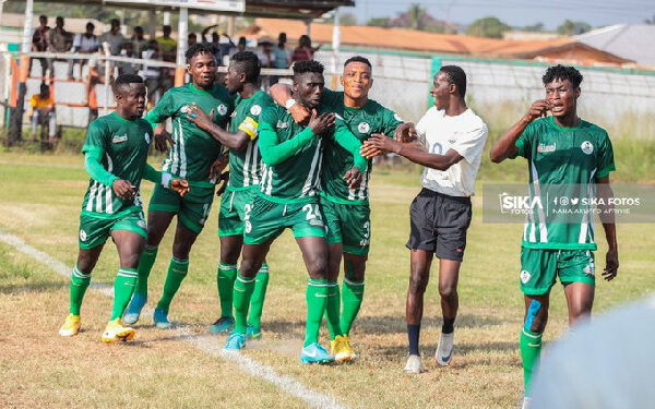 King Faisal players receive Ghc1000.00 each after avoiding relegation