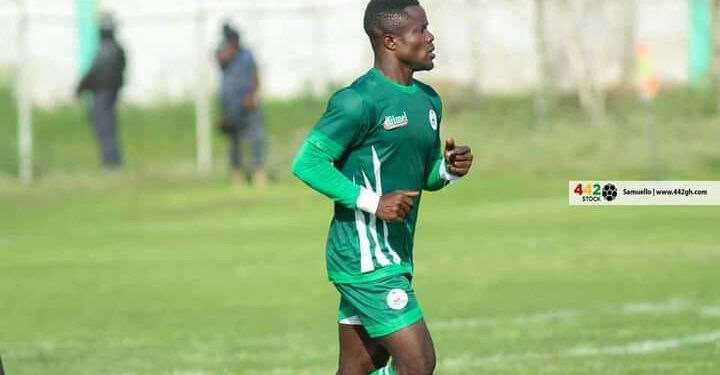 Boateng featured in 31 matches for King Faisal in the 2020 21 league season