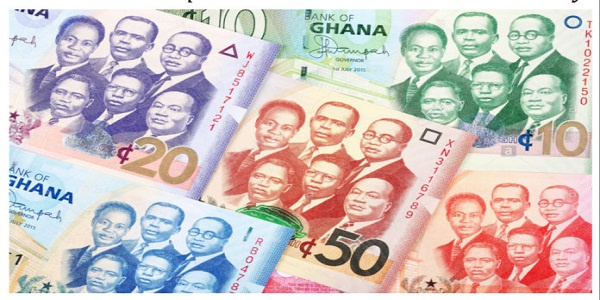 The cedi has been depreciating against the dollar for the past three months
